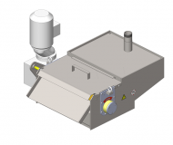 Magnetic separation vessel MSN