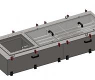 Single-sided magnetic separator MSV PO J