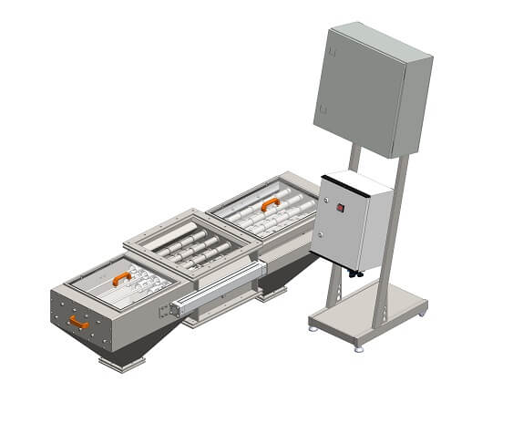 Double-sided magnetic separator MSV PO