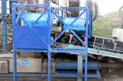 Magnets above the conveyor / Overband magnetic separator - MSF