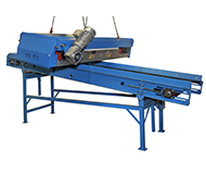 Magnets above the conveyor / Overband magnetic separator – MSF