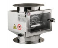 Magnetic separator with telescopic grates MSV - Classic